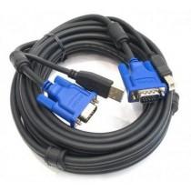 KVM кабель D-Link DKVM-CU5 до KVM з USB, 5м