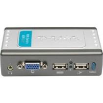 KVM перемикач D-Link KVM-221 (2port, audio) USB