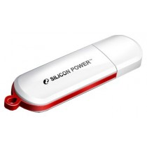 Флешка 16Gb Silicon Power LuxMini 320 White USB 2.0