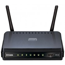 Маршрутизатор WiFi D-Link DIR-620 (802.11n, up to 300 Mbps, 4 порта LAN 10/100 Мбит/с, USB, з підтримкою мереж 3G/CDMA/WiMAX)