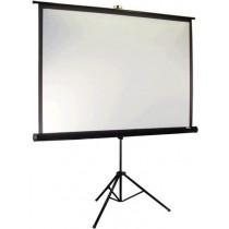 """Екран на тринозі Elite Screens 213.4x213.4 см, 119"""" (1:1), тип поверхні MaxWhite 1.1 Gain, кут огляду 160 градусів"""