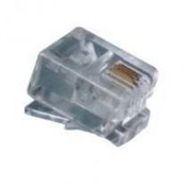 Конектор телефоний RJ11, 4p4c