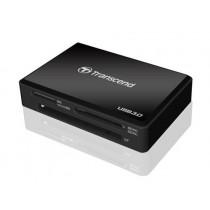 Кардрідер Transcend TS-RDF8K Зовн. MULTI CARD READER USB2.0/3.0 Black (SDHC/SDXC/MicroSDHC/M2/MS/MSXC/CF)