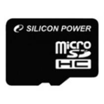 Картка пам'яті microSD 32Gb Silicon Power Class10 + SD адаптер