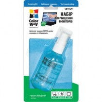 Чистячий Набір ColorWay 2 в 1 д/LCD/TFT/ ноутбуков CW-4129