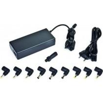 Блок живлення Gembird NPA-AC1D універсальний для ноутбуків 90W,Вихідна напруга:DC 15/16V/18V/19V/20V 4.5A max або 22/24V DC 3.5A max + набір насадок