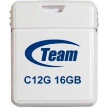 Флешка 16Gb Team C12G White