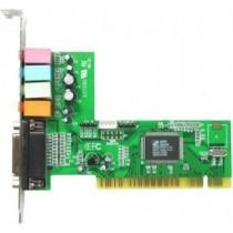 Звукова карта C-Media 8738 4ch Rev.1 (PCI/ C-Media CMI8738/ 4.0/ 16 bit/ 48 KHz/ Line-in, Line-out, Mic-in, Headphone Out, Game port/MIDI)