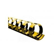 Пластикові пружини 10мм, жовтий, до 65арк., 100шт./уп.