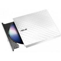 DVDRW зовніщній Asus SDRW-08D2S-U/DWHT/G/AS White External Slim USB2.0