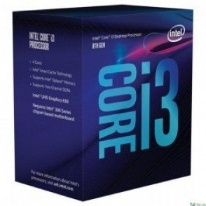 Intel 1151 Core i3-8300 Box (3.7GHz/8Mb/UHD630/65W/Coffee Lake-S)