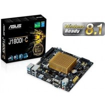 MB+CPU Asus J1800I-C (CPU Celeron J1800 Core), 2xDDR3 SO-DIMM, VGA-HDMI, Com port, mITX)