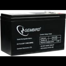 Акумулятор Gembird 12V-7.2Ah