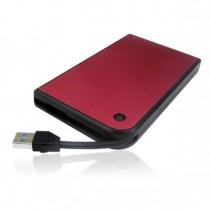 "Зовнішня кишеня 2.5"" AgeStar 3UB2A14 USB3.0 Red"
