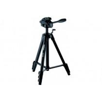 Штатив Velbon EX-540 (для фото і відеокамер, трипод, підлоговий, висота зйомки від 49 до 156 см, максимальне навантаження - 4 кг, довжина (у складеному стані) 49 см, змінний майданчик, 4 секції штанги, центральна стійка елеваторного типу, 1.43 кг, чорний)