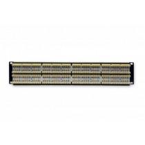 """Патч-панель 19"""" 48xRJ-45 UTP, кат. 6, 2U, dual type, EPNew"""