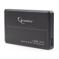 """Зовнішня кишеня 2.5"""" Gembird EE2-U3S-2 Black USB3.0"""