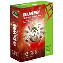 ПЗ Dr. Web Security Space v11.0, на 1рік на 2ПК (1ПК на 2роки+150днів) (електронний ключ)