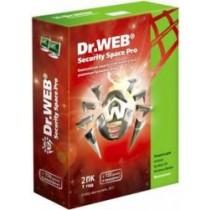 ПЗ Dr. Web Security Space, продовження ліцензії, на 2роки на 1ПК (електронний ключ)