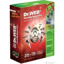 ПЗ Dr. Web Security Space v11.0, на 2роки на 2ПК (електронний ключ)