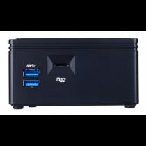 Неттоп GigaByte BRIX GB-BACE-3160 (Celeron N3160(1.6GHz)/NoRAM/NoHDD/Intel HD400/NoODD/NoOS)