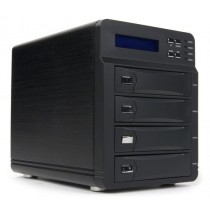 """Зовнішня кишеня 3.5"""" AgeStar 3C4B3A Black 4x3.5"""", RAID, eSATA, USB3.0"""