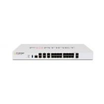 Міжмережевий екран Fortinet FG-100E, 2GE x WAN, 1GE x DMZ, 1GE x Mgmt, 2GE x HA, 14GE x switch ports.