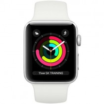 Смарт-годинник Apple Watch A1859 Series 3 GPS 42mm Silver Aluminium Case with White Sport Band