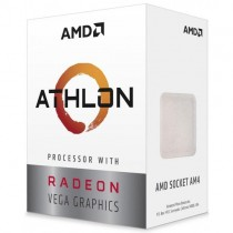 AMD AM4 Athlon 220GE Box (3.4GHz/5Mb/Vega/35W/2C/4T)