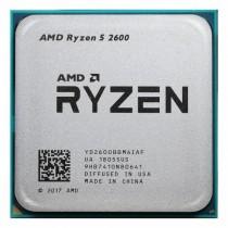 AMD AM4 Ryzen 5 2600 Tray (3.9GHz/19MB/noVideo/65W/6C/12T)