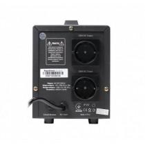 Стабілізатор Maxxter MX-AVR-S2000-01, 230V, 2000VA, 1200W