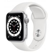 Смарт-годинник Apple Watch A2291 Series 6 GPS, 40mm Silver Aluminium Case with White Sport Band - Regular