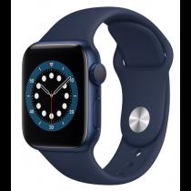 Смарт-годинник Apple Watch A2291 Series 6 GPS, 40mm Blue Aluminium Case with Deep Navy Sport Band - Regular