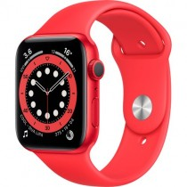 Смарт-годинник Apple Watch A2292 Series 6 GPS, 44mm PRODUCT(RED) Aluminium Case with PRODUCT(RED) Sport Band - Regular