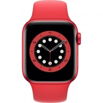 Смарт-годинник Apple Watch A2291 Series 6 GPS, 40mm PRODUCT(RED) Aluminium Case with PRODUCT(RED) Sport Band - Regular