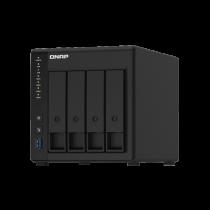 Мережевий дисковий масив Qnap TS-451D2-2G (4xHDD) 2xGLan, 4xUSB3.0