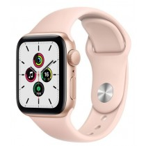 Смарт-годинник Apple Watch A2351 SE GPS, 40mm Gold Aluminium Case with Pink Sand Sport Band - Regular