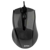 Мишка A4Tech N-500F, 1000dpi, V-Track, black, USB