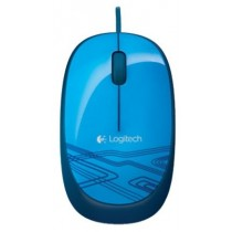 Мишка Logitech M105, 1000dpi, optical, blue, USB