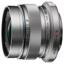 Об'єктив Olympus EW-M1220 ED 12mm 1:2.0 Silver