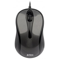 Мишка A4Tech N-350-1, 1000dpi, V-Track, grey, USB