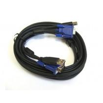 KVM кабель D-Link DKVM-CU3 до KVM з USB, 3м