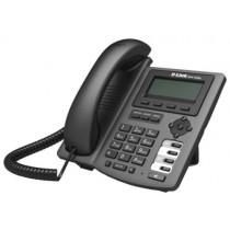"""IP-телефон D-Link DPH-150S (2xEthernet RJ-45 (WAN, LAN), підтримка SIP, монохромний дисплей, Caller ID, автовідповідач, очікування і утримування виклику, виключення мікрофона, прийом/відхилення анонімних дзвінків, функція """"не турбувати"""", телефонна книга ("""