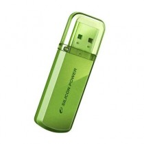 Флешка 32Gb Silicon Power Helios 101 Green USB 2.0