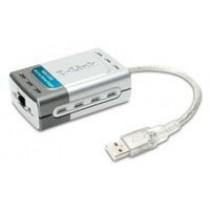 Адаптер мережевий USB D-Link DUB-E100 USB 2.0 (1-port UTP 10/100Mbps USB 2.0)