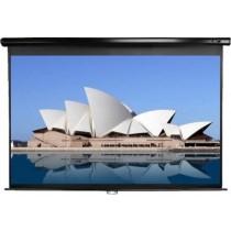"""Екран настінний Elite Screens 203.7x114.6 см, 99""""(16:9), тип поверхні MaxWhite™, кут обзору 160 градусів, ручний"""