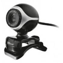 Веб камера Trust Exis Black/Silver