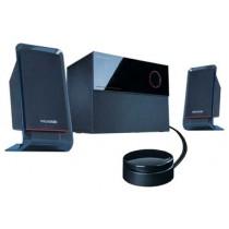 """Колонки Microlab M-200 2.1 Black (SAT: 2x12 Вт, динаміки: 2.5"""", 150-20000 Гц, пластик, SUB: 16 Вт, динамік: 5"""", 35-150 Гц, дерево, провідний ПДУ)"""