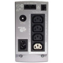 ББЖ APC Back-UPS CS 650VA, 400 Watts / 650 VA,Input 230V / Output 230V, розетки: 4( IEC 320 C13), 2(IEC Jumpers), Interface Port DB-9 RS-232, USB, захист: Analog phone line for phone/fax/modem/DSL (RJ-45 connector), змінна батарея: RBC17, розміри: 165х91х