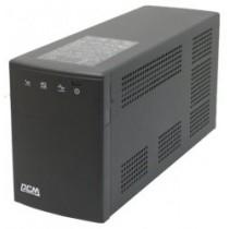 ББЖ PowerCom BNT-1000AP(USB) Schuko (1000 ВА, 600 Вт, Line-interactive, апроксимована синусоїда, час переходу на батарею: 2-4 мс, AVR, 130x382x192 мм, 14 кг, Black)